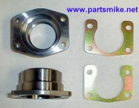 DMS-BB-BB Weld-on housing end with retaining plate