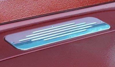 DM9002 Polished Billet Air Intake Grill