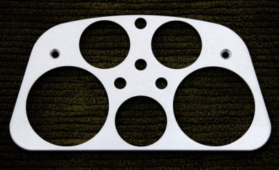 DM9010 Billet Gauge Panel
