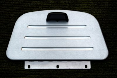 DM9014H Billet Glove Box Cover with Billet Handle
