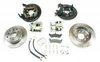 4354400 REAR DISC BRAKE KIT - Ford SB/Set 20 bearing/universal