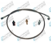 AA716130IR  SS Hose kit JEEP YJ MASTER CYLINDER to clutch cyl