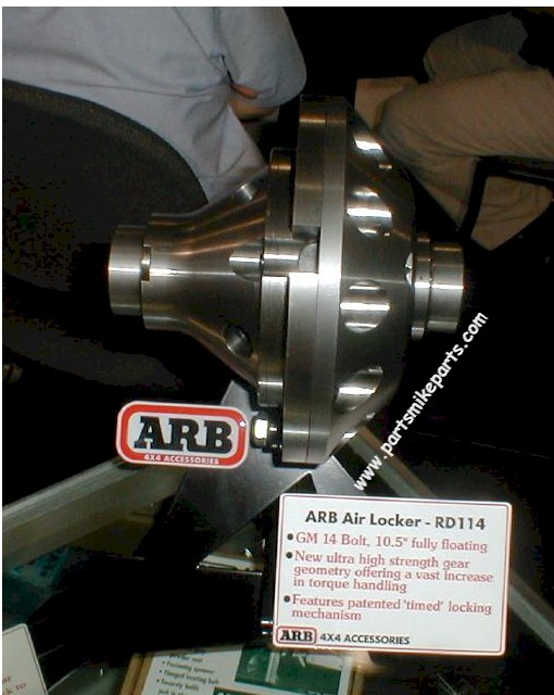 ARB-RD114 14 BOLT AIR LOCKER